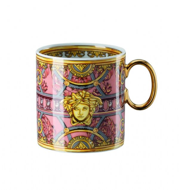 Versace La Scala Del Palazzo Rosa Mug with handle